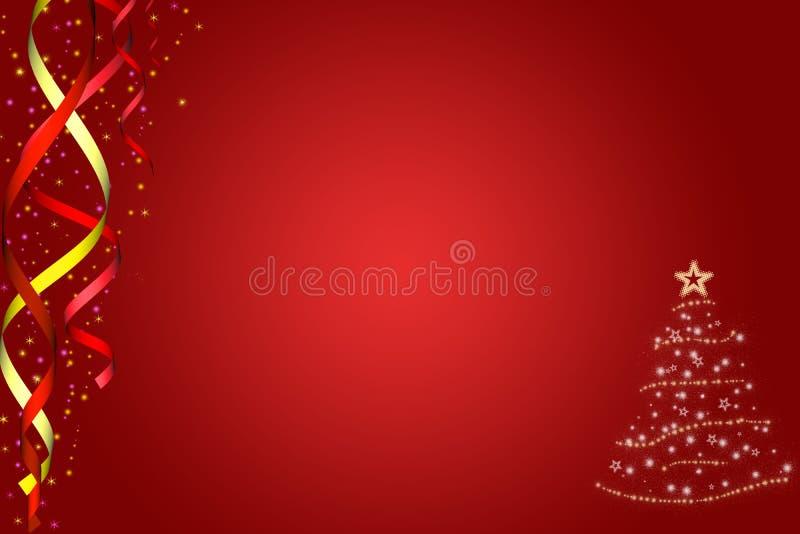Noël de fond neuf à l'an illustration de vecteur