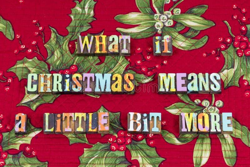 Noël de Grinch signifie plus de typographie de joie photo stock