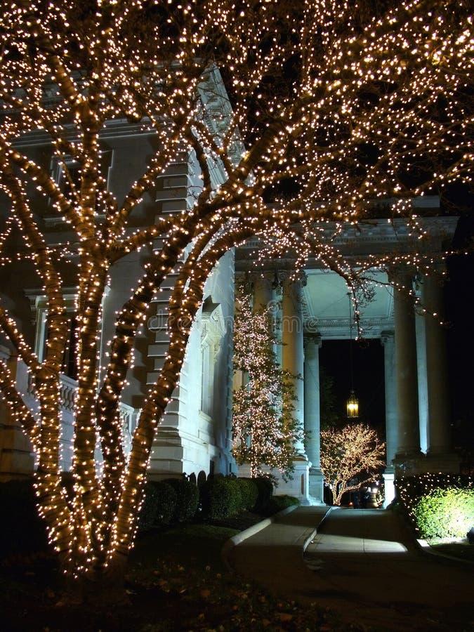 Noël de Hall de constitution de DAR images libres de droits