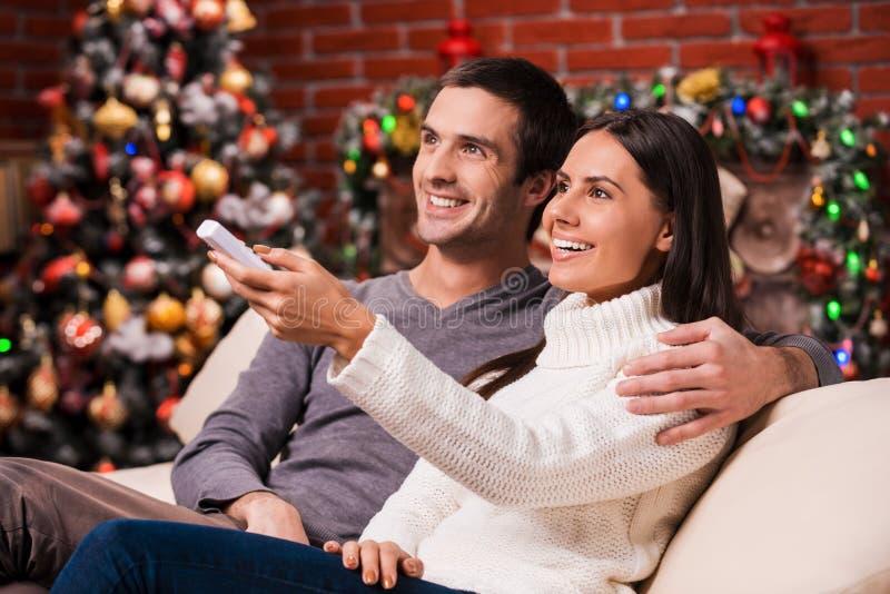 Noël de observation montre ensemble photos stock