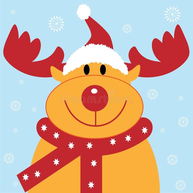 Noël de renne illustration libre de droits