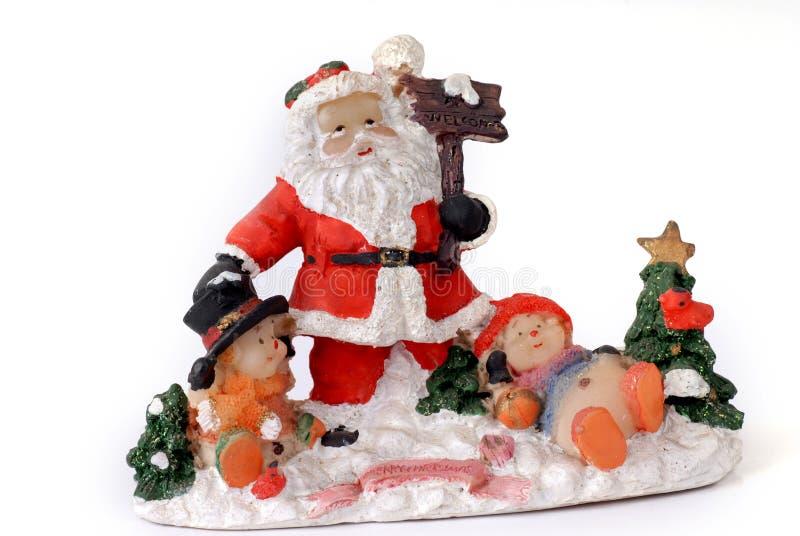 Noël du père noël image stock