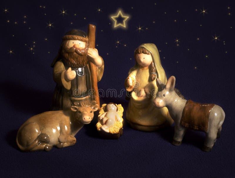 Noël en céramique photographie stock libre de droits