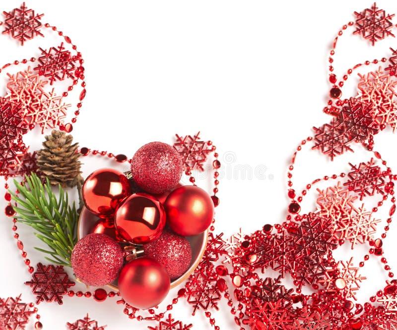 Noël en rouge photo stock