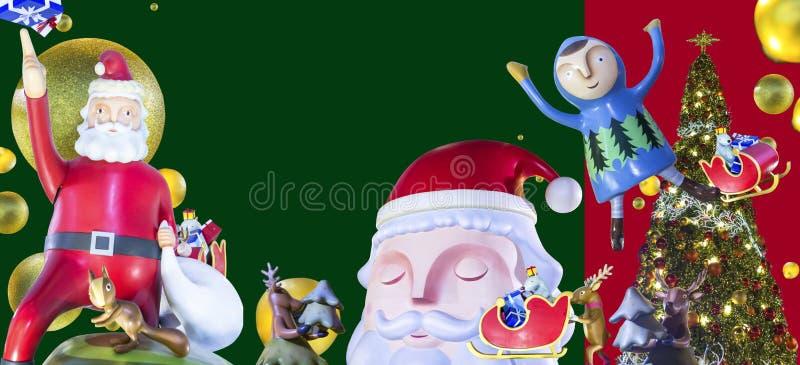 Noël et an neuf heureux photographie stock libre de droits
