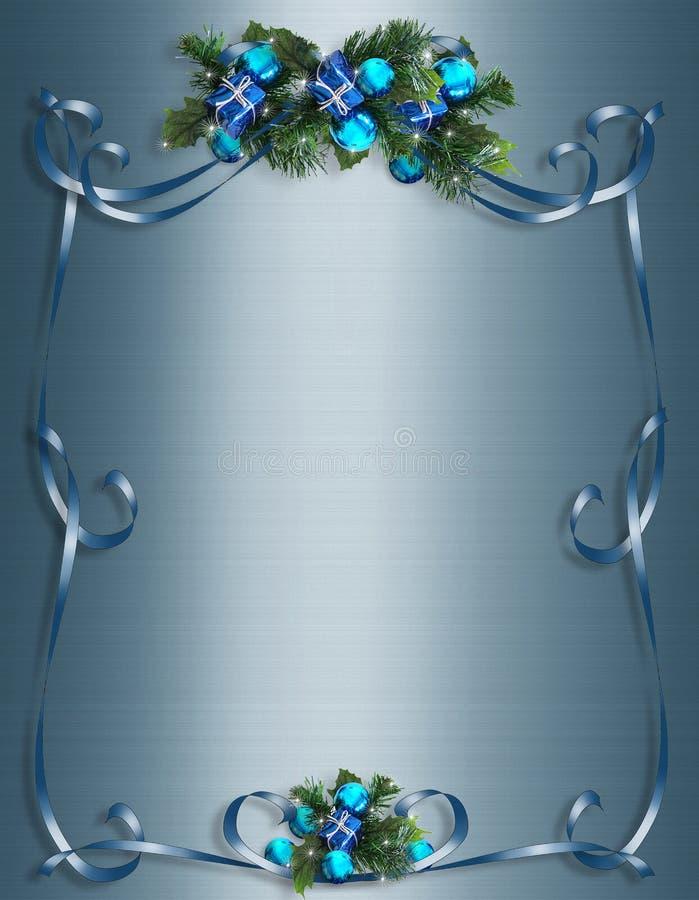 Noël, fond de Hanukkah, cadre ou trame illustration de vecteur