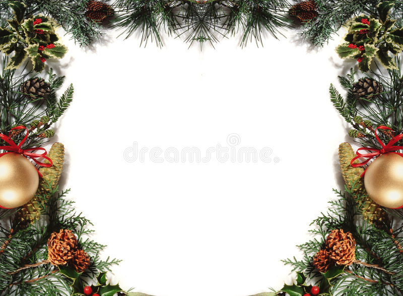 Noël frame3 photo stock
