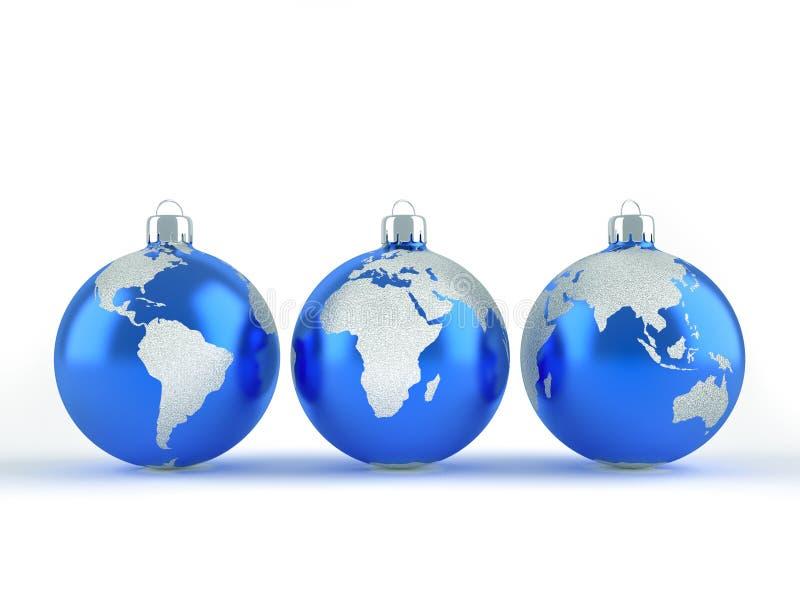 Noël global illustration libre de droits