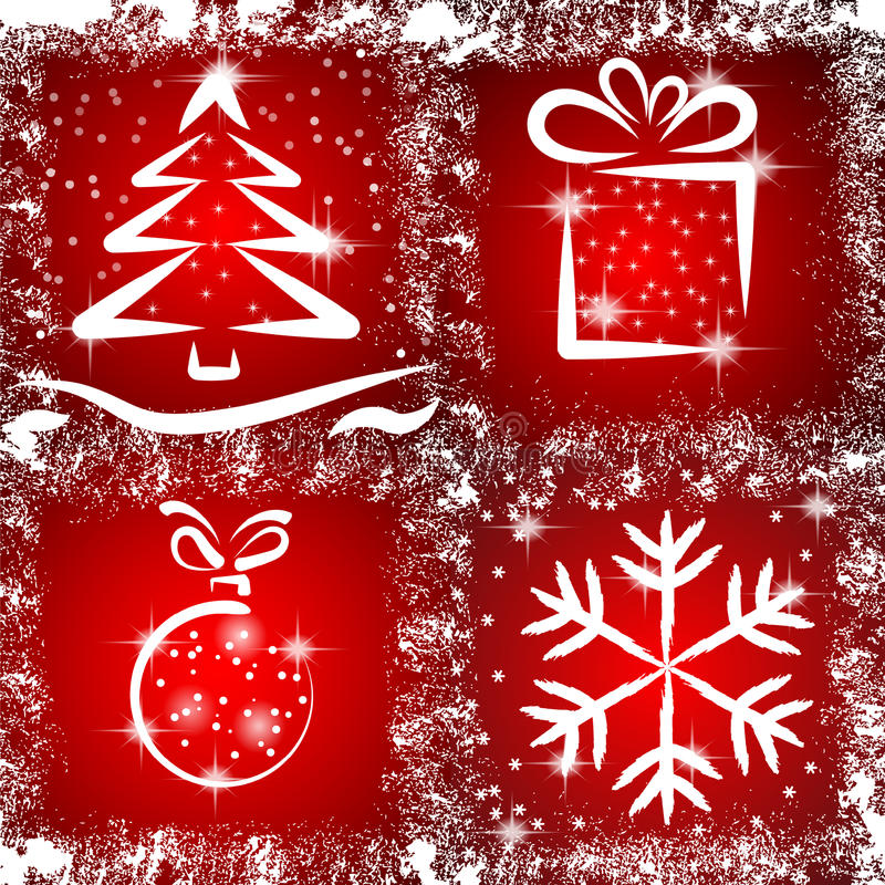 Noël grunge illustration libre de droits