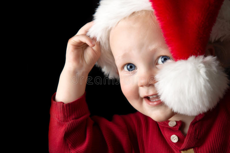Noël heureux. photos libres de droits