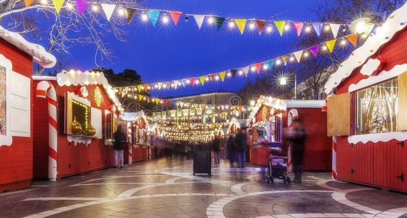 Noël juste à Bakou photographie stock libre de droits