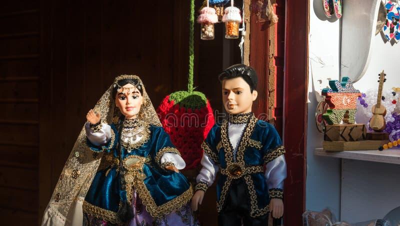 Noël juste à Bakou photographie stock