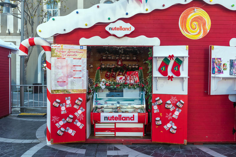 Noël juste à Bakou image stock
