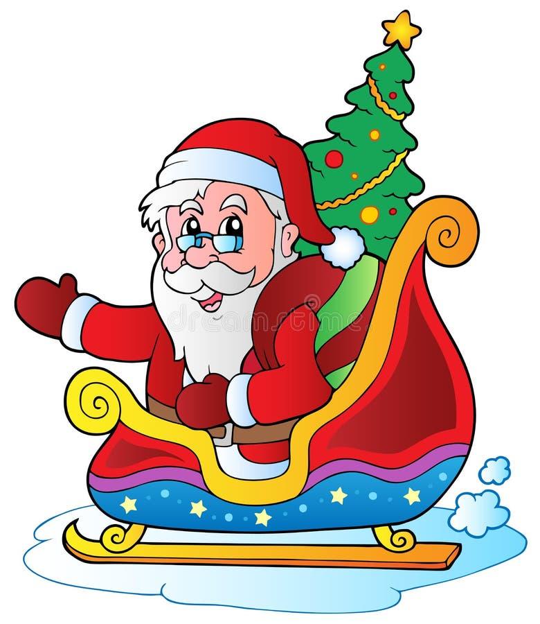 Noël le père noël 6 illustration libre de droits