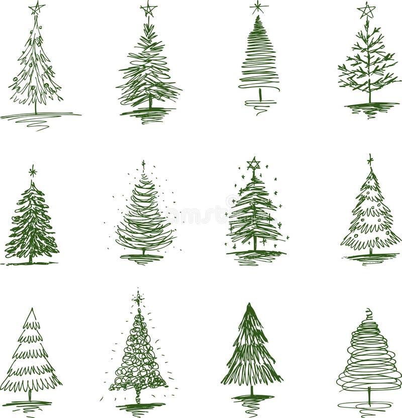 Noël ma version de vecteur d'arbre de portefeuille illustration stock