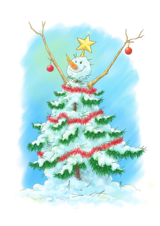 Download Noël Ma Version De Vecteur D'arbre De Portefeuille Illustration Stock - Illustration du pointeau, branchements: 45355554