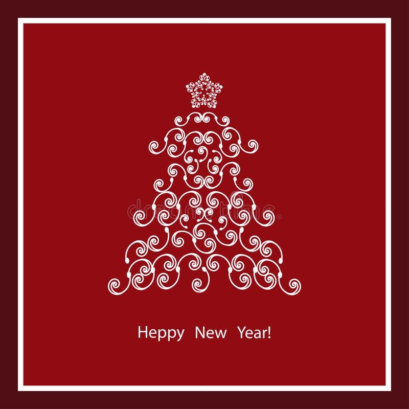 Download Noël Ma Version De Vecteur D'arbre De Portefeuille Illustration de Vecteur - Illustration du noël, invitation: 45372008