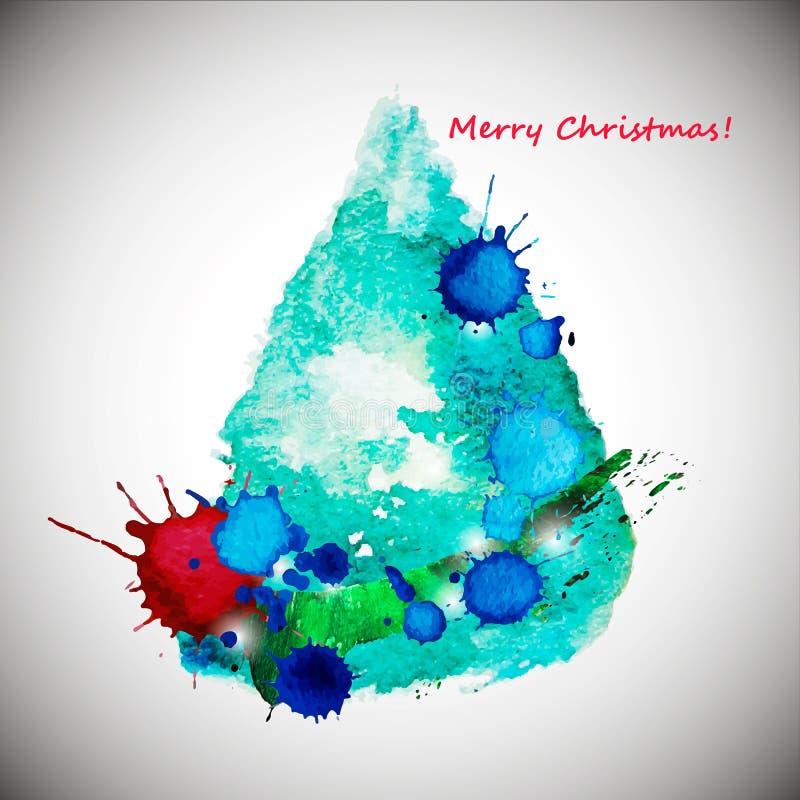 Noël ma version de vecteur d'arbre de portefeuille photos libres de droits