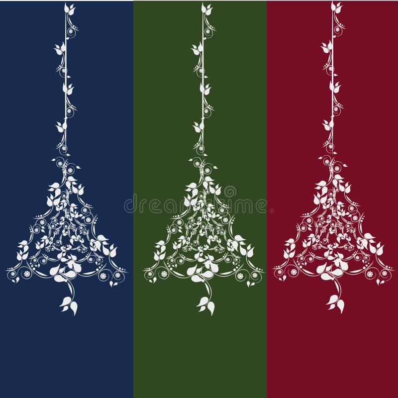 Noël ma version de vecteur d'arbre de portefeuille illustration de vecteur