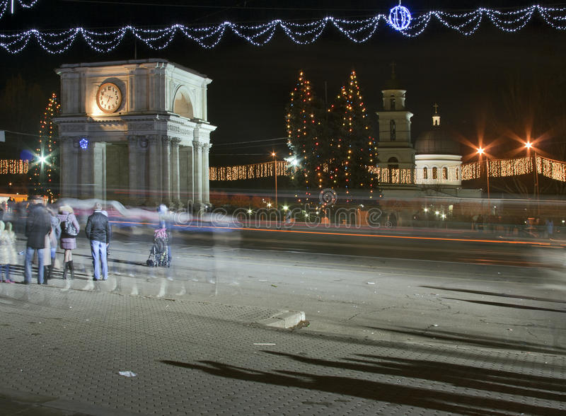 Noël Moldau photo stock