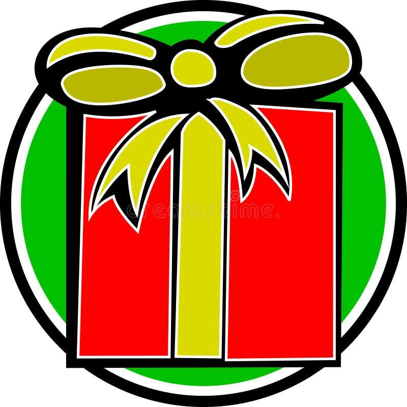 Noël ou cadeau d'anniversaire illustration stock