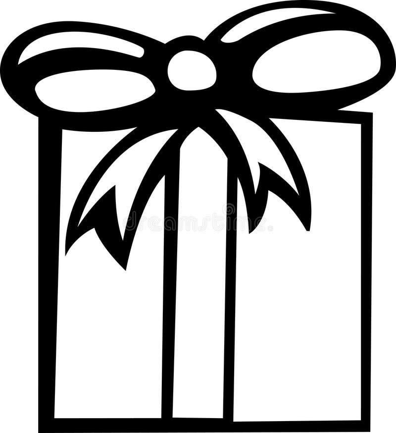 Noël ou cadeau d'anniversaire illustration de vecteur