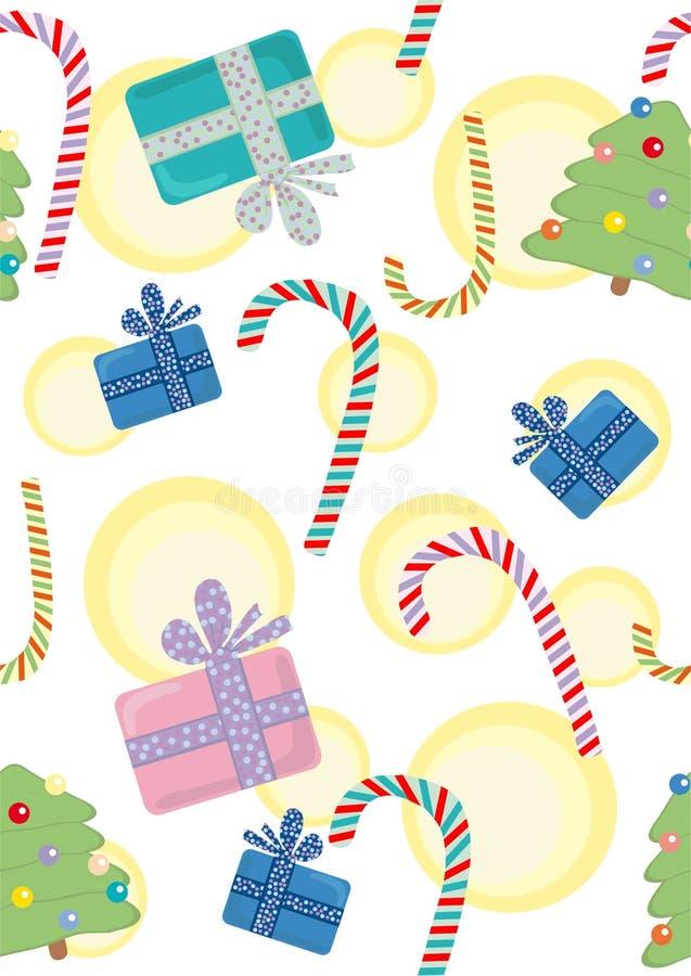 Noël pattern_3 illustration libre de droits