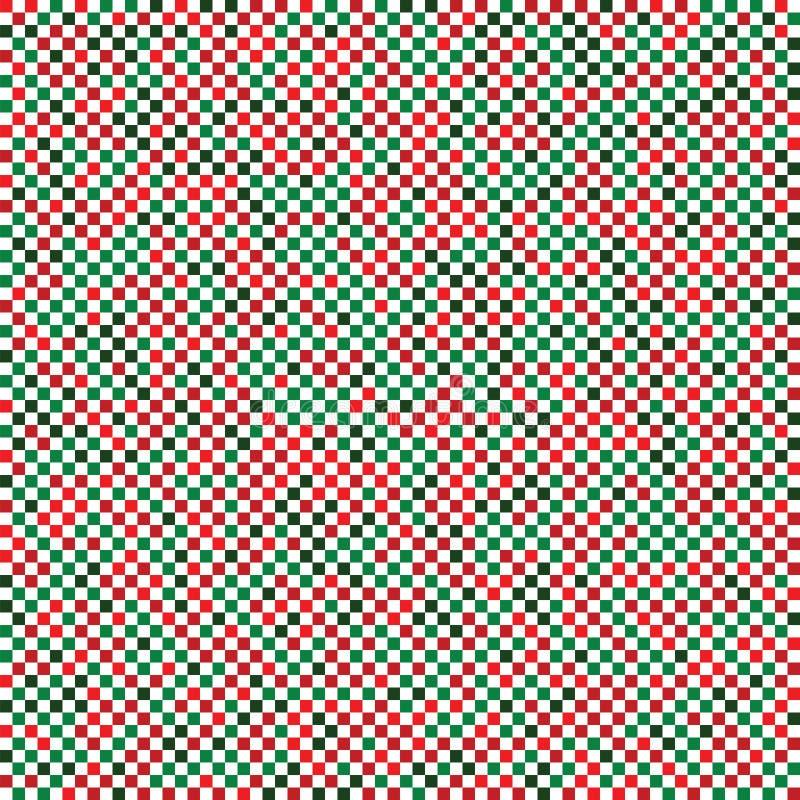 Noël sans couture carré abstrait de texture illustration stock