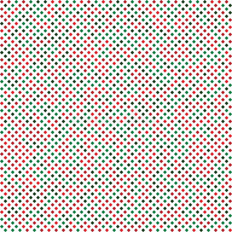 Noël sans couture de texture de diamant abstrait illustration libre de droits