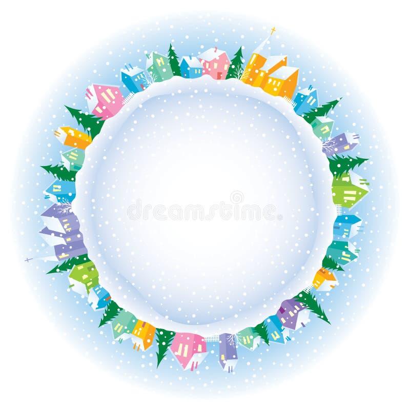 Noël sur terre illustration stock