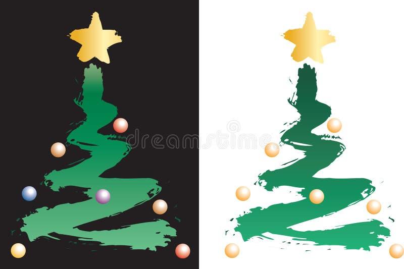 Noël tree16807 illustration de vecteur