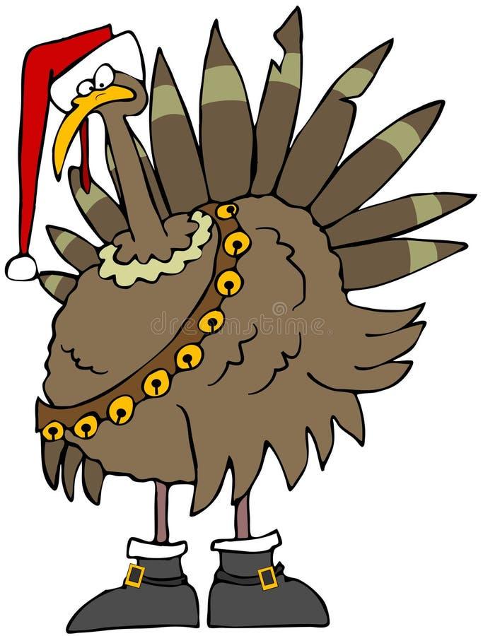 Noël Turquie illustration de vecteur