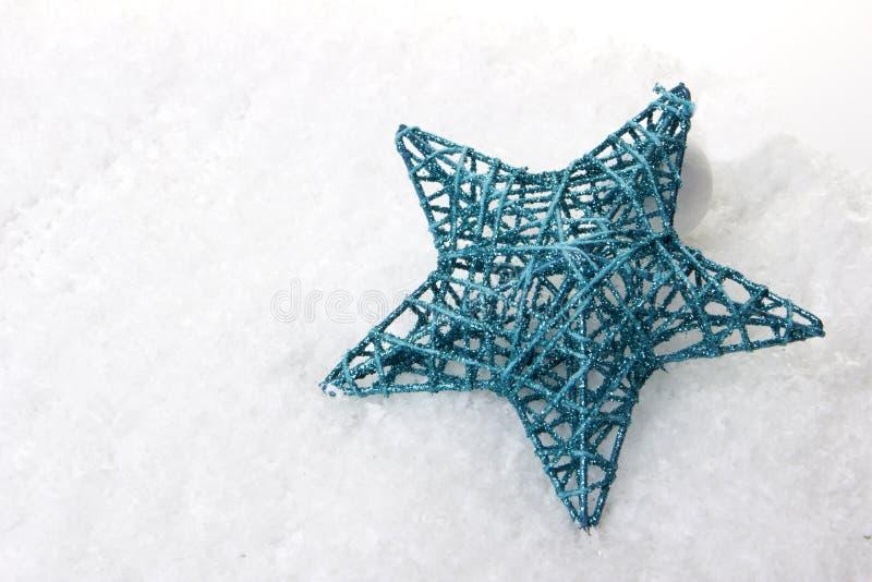Noël, turquoise d'ornement de Noël image libre de droits