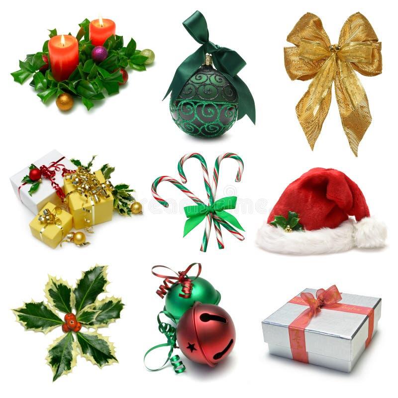 Noël un échantillonneur images libres de droits