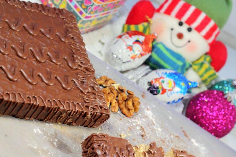 Noël un dessert photos libres de droits