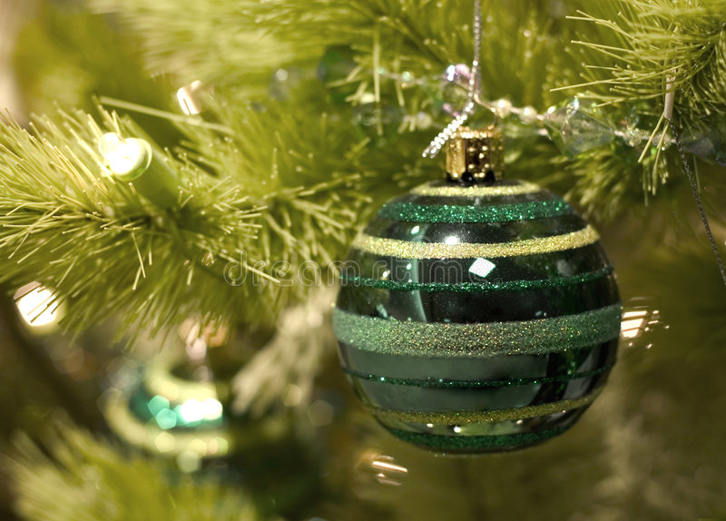 Noël vert image libre de droits