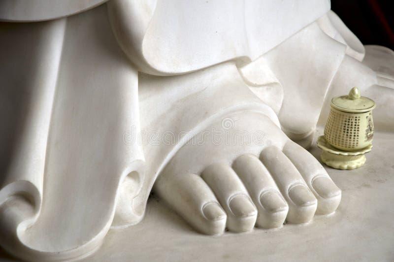 nożny Buddha dobro s obrazy royalty free