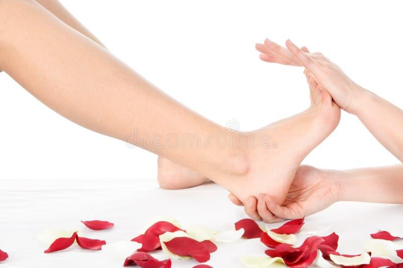 nożny masaż obraz royalty free