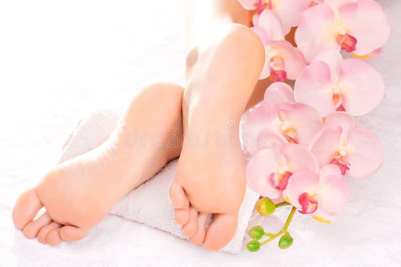 nożny masażu salonu zdrój obraz royalty free