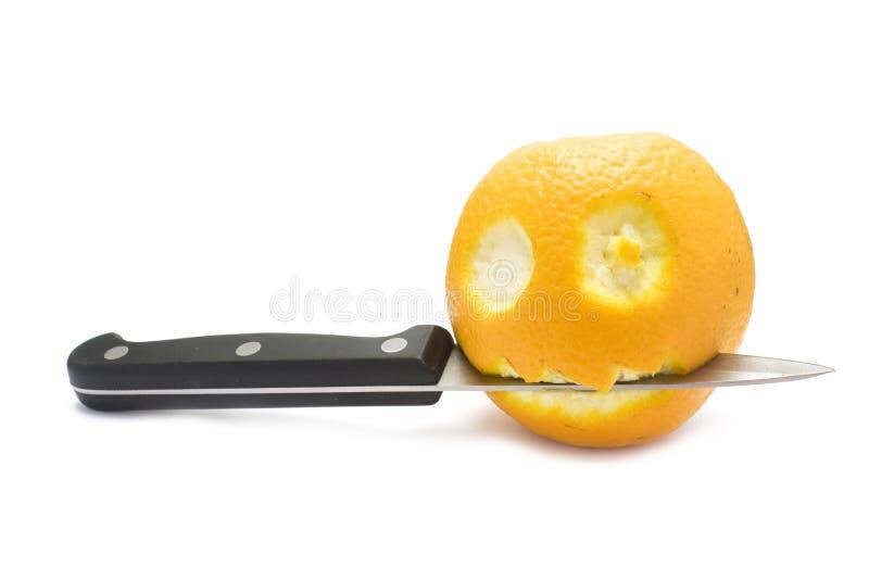 Download Nożowa pomarańcze zdjęcie stock. Obraz złożonej z nóż - 13325020