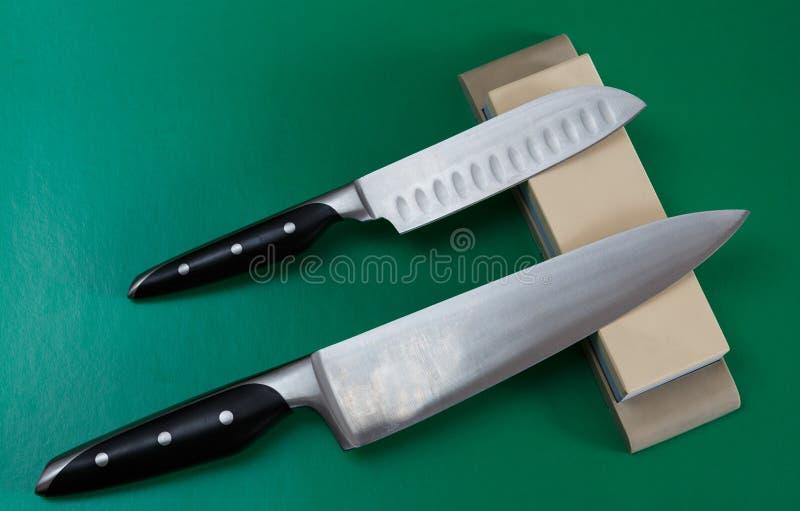 Nożowy ostrzenie obrazy royalty free