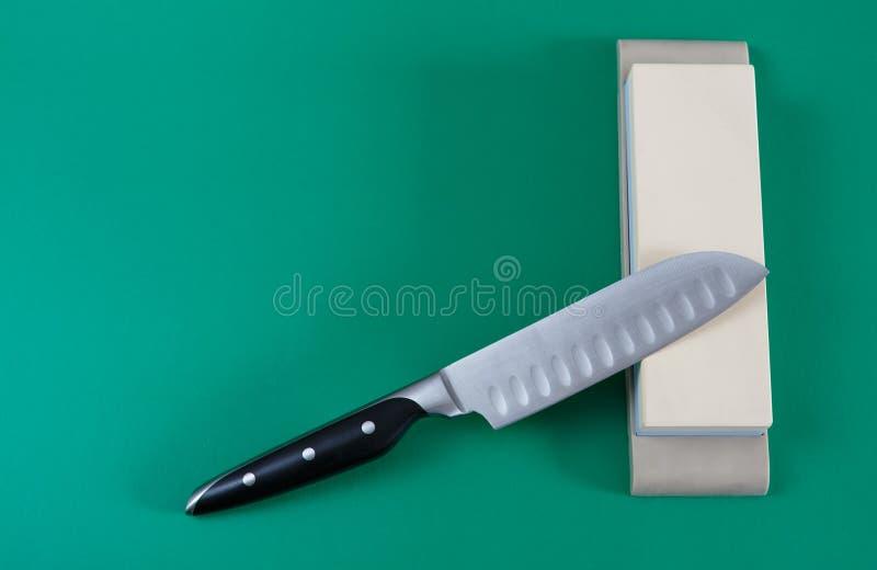 Nożowy ostrzenie obrazy stock
