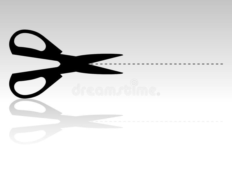 nożyce ilustracji