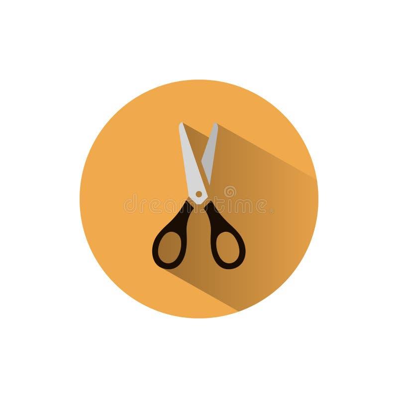 Nożyce ikona ilustracja wektor