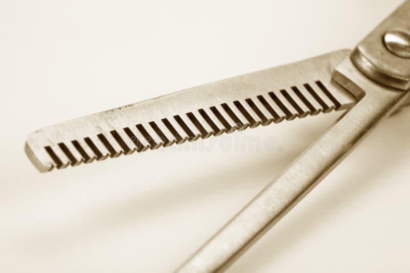 nożyczek cienieć włosów zdjęcia royalty free