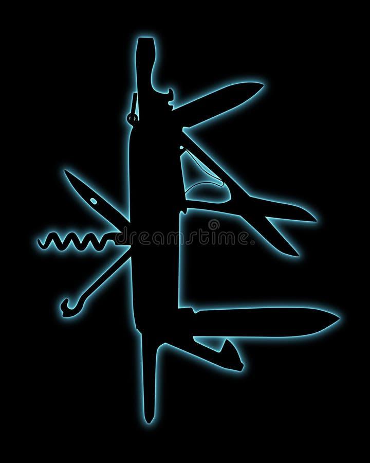 nożyk ilustracji