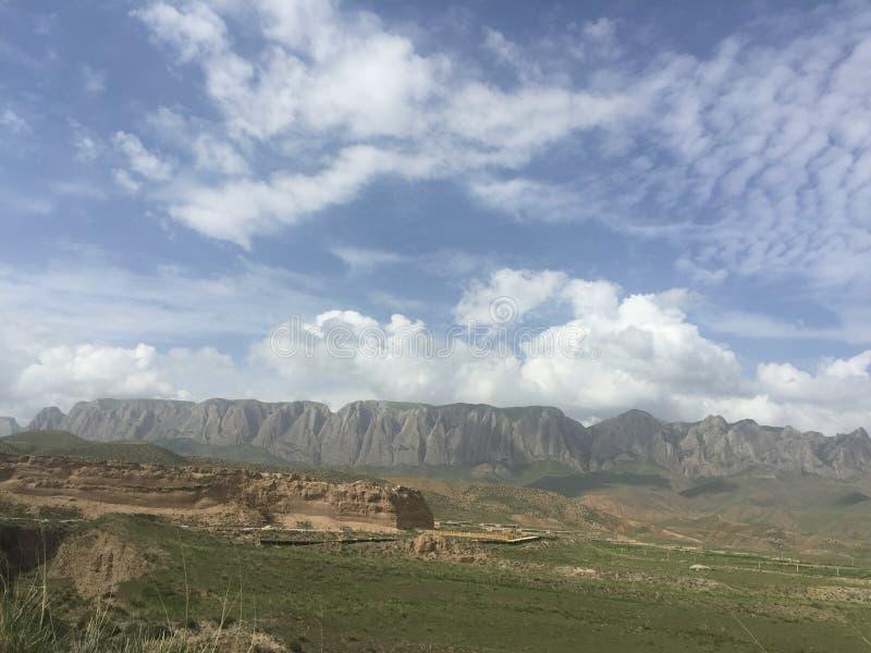 No1 плато Ганьсу стоковые изображения