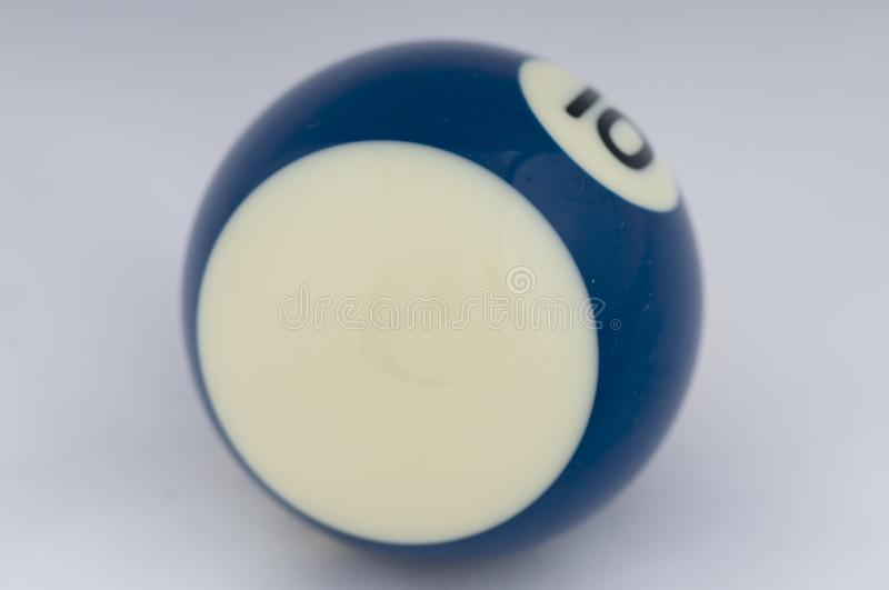 No 10 Pool Ball royalty free stock images