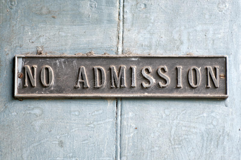 No Admission