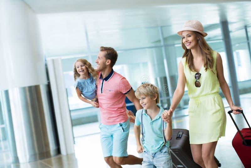 No aeroporto foto de stock royalty free